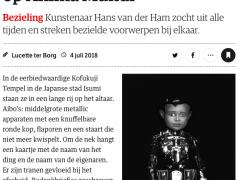 NRC Handelsblad about ANIMA MUNDI Museum Boijmans Van Beuningen
