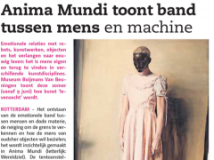 Anima Mundi toont band tussen mens en machine