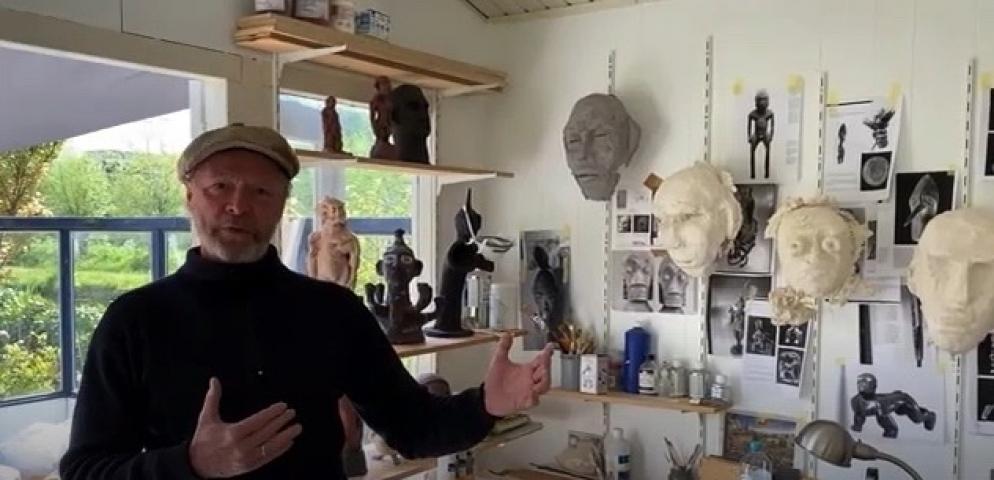 Film portret Hans van der Ham by Oscar Larik - MEHR LICHT ! 2020 Galerie Larik, Utrecht