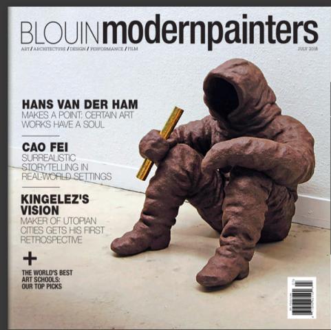 Hans van der Ham makes a point: certain art works have a soul