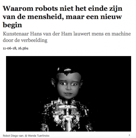Waarom robots niet het einde zijn van de mensheid, maar een nieuw begin