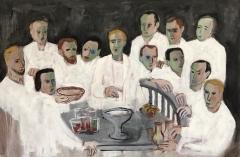 The Ritual 2021 oil on canvas 100 x 150 cm
