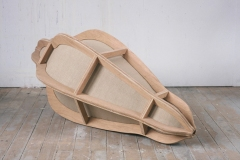 Transfiguration 1993 wood/canvas L: 220 cm