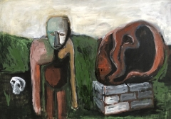 n.t. 2020 oil on canvas 70 x 100 cm