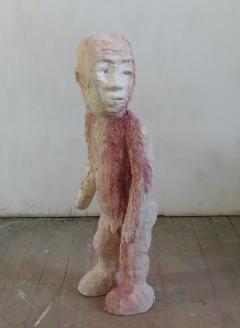 n.t. 2020 plaster/pigment H: 140 cm