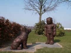 n.t. 2005 bronze, H: ± 135 cm