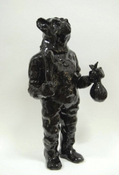n.t. 2009 ceramics H: 49 cm private collection The Hague