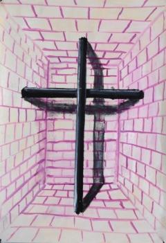 n.t. 2010 gouache on paper 26 x 18 cm