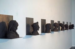 Shadow Archive fired black clay - overview Galerie Nouvelles Images 2018