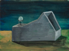 n.t. 2010 gouache on paper 18 x 26 cm