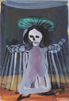 n.t. 2008 gouache on paper 26 x 18 cm