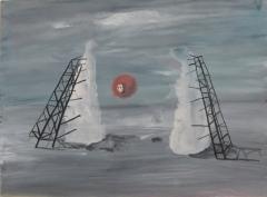 n.t. 2012 gouache on paper 23 x 31 cm