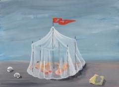 n.t. 2011 gouache on paper 22,5 x 30,5 cm