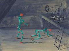 n.t. 2014 gouache on panel 23 x 31 cm