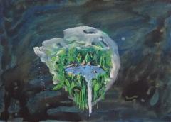 n.t. 2012 gouache on paper 25,8 x 36 cm